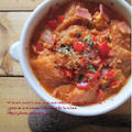 ☆部 干しパプリカで貧乏人のスープ「sopa de ajo(ソパ・デ・アホ)」