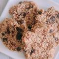 オーツミルクとアーモンドミルクの絞りかすを再利用!粉なし 材料5つの簡単クッキー【プラントベース/グルテンフリー】