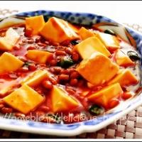 納豆マーボ豆腐