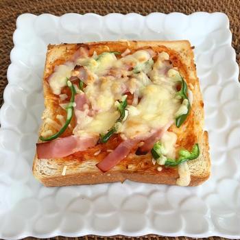 ピザトースト レシピ