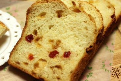 ★☆★さくらんぼとメープルの豆乳ヨーグルトパン★☆★
