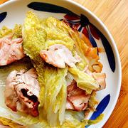 白菜と豚バラ肉の重ね蒸