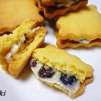 レーズンバターサンドクッキー☆