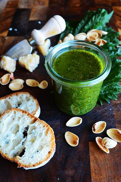 SHISOネーゼ パルミジャーノ・レッジャーノと大葉とピスタチオ 大葉ネーゼ (ジェノペーゼの和香菜バージョン)万能 作り置きソース 調味料