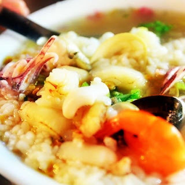 海產粥│台湾風海鮮粥