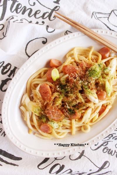 レンジで簡単!麺レシピ*柚子胡椒風味焼きうどんなど*7選
