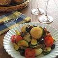 ワインによく合うイタリアン♪ほたてとオリーブの白ワイン風味