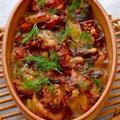 サーモンとじゃが芋のグラタン、アネット風GRATIN DE SAUMON,POMMES DE TERRE A L'ANETH by mietchiさん