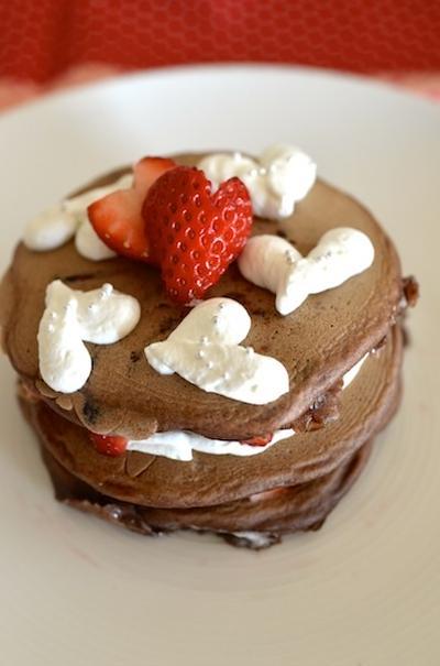 マシュマロチョコパンケーキ
