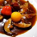特大椎茸のオイスター煮
