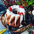 冬至とクリスマスの嬉しいコラボ❤️クグロフ風かぼちゃのラムバターケーキ♪