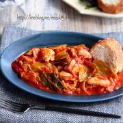 ごはんにもパンにもぴったり♪「鶏もも肉のトマト煮」レシピ