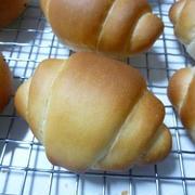 生イーストでロールパン!