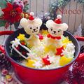 ホワイトXmas★雪だるまダッフィー&シェリーメイ by Naocoさん