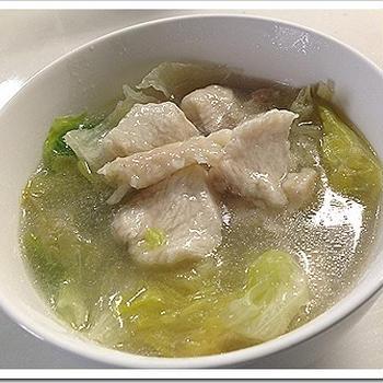 鶏胸肉スープレシピ【簡単】驚くほど柔らかくする方法