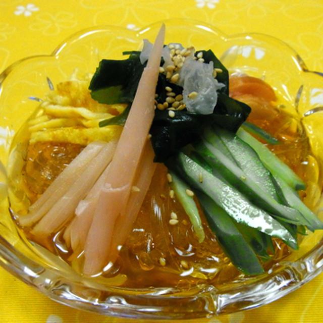 新食感♪ところてんの冷やし中華風サラダ♪