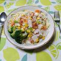 たっぷり野菜のサラダパスタ