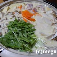 成分無調整豆乳で作る豆乳鍋