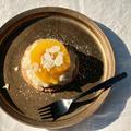 veganお菓子レシピ。ココナッツミルクを使ったvegan桃タルトの作り方