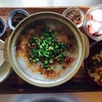 【モニター当選】お粥と混ぜ込み中華風スープの風邪っぴき朝ごはん
