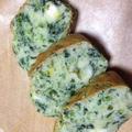 朝もしっかり野菜を食べよう!「ほうれん草のケークサレ」