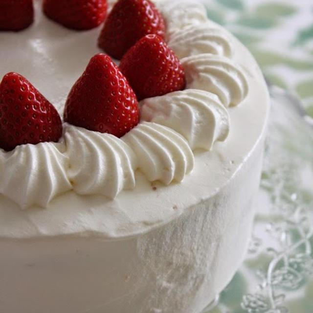 Fraisier a la japonaise. イチゴのショートケーキ