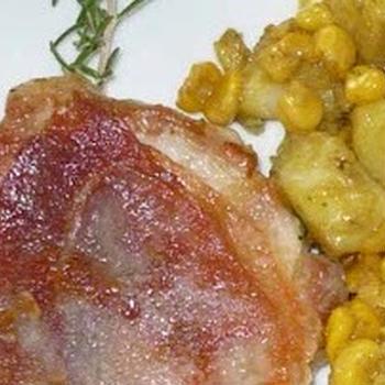 リニューアルしたレシピ その9 豚ひれ肉で作るサルティンボッカ