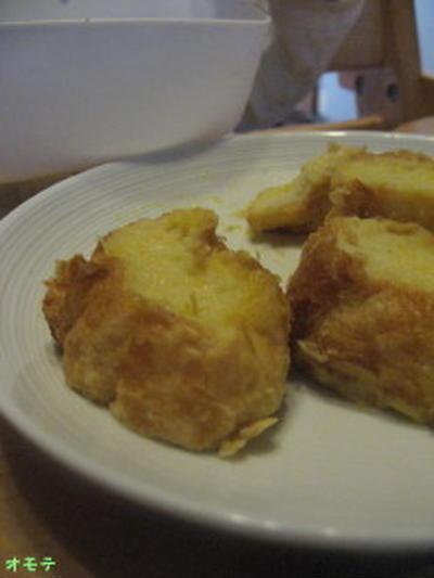 卵なしバターなし砂糖なしのフレンチトースト