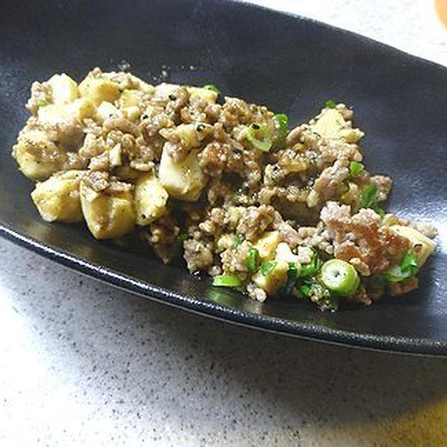 冷凍豆腐で炒め物