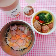 魚ニソの玉子とじ丼〖普通弁当*丼〗
