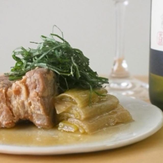 豚の塩角煮 -日本ワインと楽しむ和風煮込みレシピ-