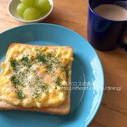 卵マヨチーズトースト