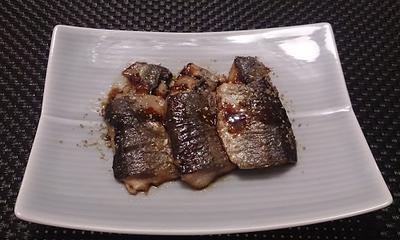 【秋刀魚】の梅煮・かば焼き・揚げしんじょの作り方(レシピ)