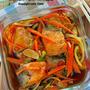 花嫁レシピ♡基本の調味料でパパッと作る♡『鮭の南蛮漬け』《簡単*節約*作り置き*お弁当》