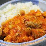 トルコ風 ラムと豆のシチュー