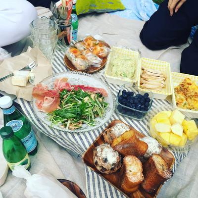 アラフォー女子で持ち寄りピクニック