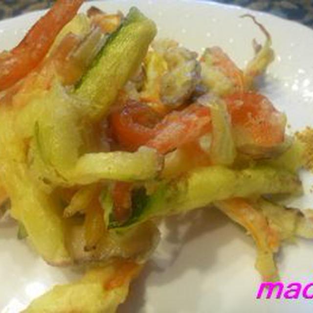 洋風野菜天ぷら