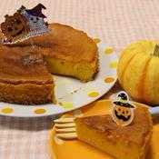 ★ハロウィン★濃厚 かぼちゃのケーキ