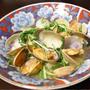 【ヤマキだし部】アサリと水菜のだし煮。旨みでたっぷりおだしも飲み干したいおつまみ。