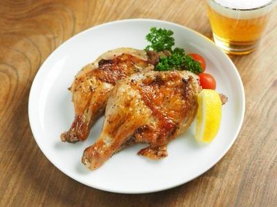>チキンレッグの塩レモン焼き 、 オーブントースターで簡単レシピ by 筋肉料理人さん
