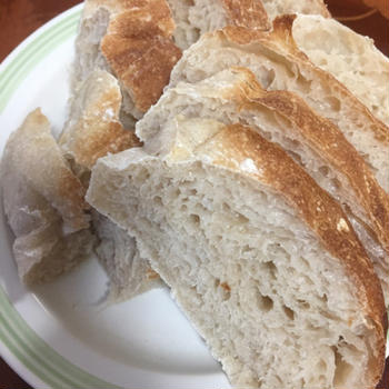 レジャンデール&サフでパン焼き