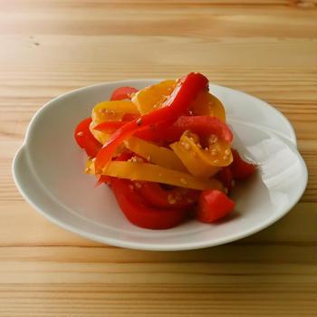 【野菜ひとつ】パプリカのナムル