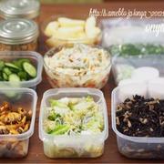 今週のゆる〜〜い常備菜作りと、うまーい!食べるラー油きのこ風おつまみ♪