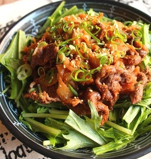 牛肉とひらひら大根の韓国風サラダ*本日イベントです、よろしくお願いします