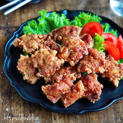 ♡ソースdeコクうま♡鶏の唐揚げ♡【#簡単レシピ#鶏肉#お弁当】