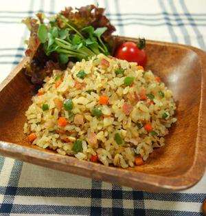 クミン香る☆彩り具材たっぷり♪スパイシーチャーハン  Spicy fried rice with caraway seed -Recipe No.1480-