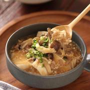 崩し豆腐ときのこの中華そぼろあん【#簡単 #時短 #節約 #ヘルシー #煮るだけ #ボリューム副菜 #副菜】と「またまた重版決定!」