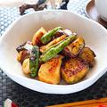 鶏胸肉となすのピリ辛炒め【豆板醤でカンタン高たんぱく】 レシピ・作り方