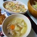 12月14日 牡蠣グラタンとポトフの夕ご飯 by カオリさん