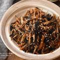 【レシピ・作り置き・副菜・動画】地味なおかずほどご飯が進む!ひじきとごぼうのうま煮